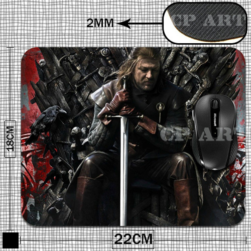 Game of Thrones – Ned Stark mousepad