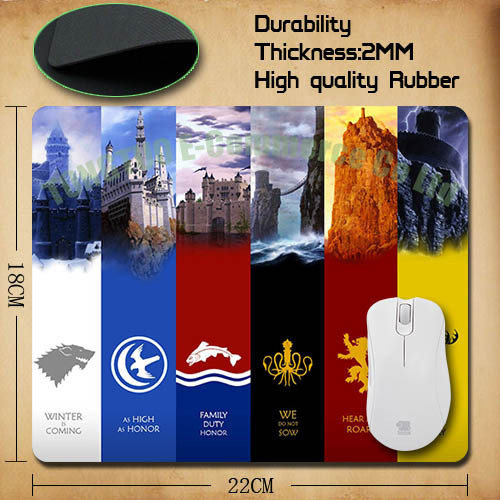 Game of Thrones, Family Houses mousepad