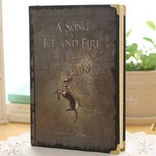 Game of Thrones Vintage Hardcover Notebook, A5 Size