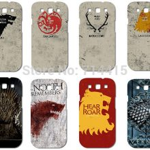 Game of Thrones Retro Family Flag protective Case/Hard Cover for Samsung galaxy s3 i9300