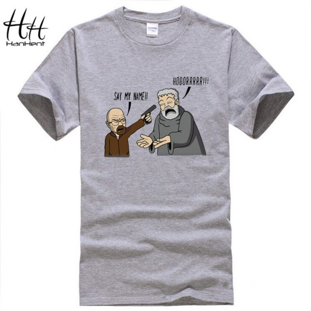 Game of Thrones, Breaking Bad – Hodor, funny T-Shirt Men, Cotton, O Neck