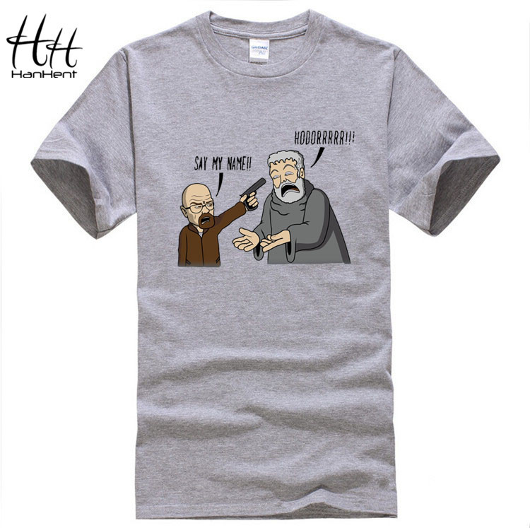 Game of Thrones, Breaking Bad - Hodor, funny T-Shirt Men, Cotton ...