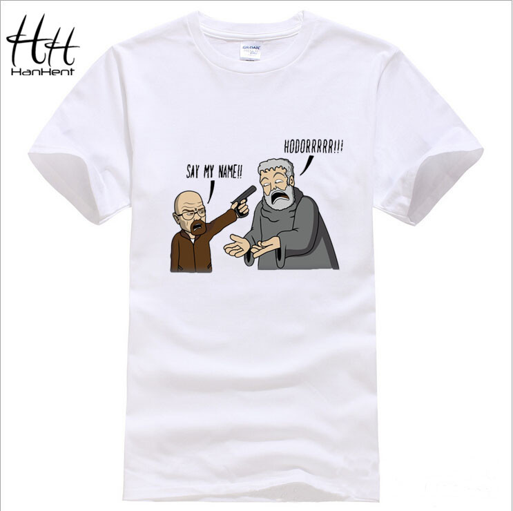 7bd54729 Game of Thrones, Breaking Bad - Hodor, funny T-Shirt Men, Cotton, O Neck