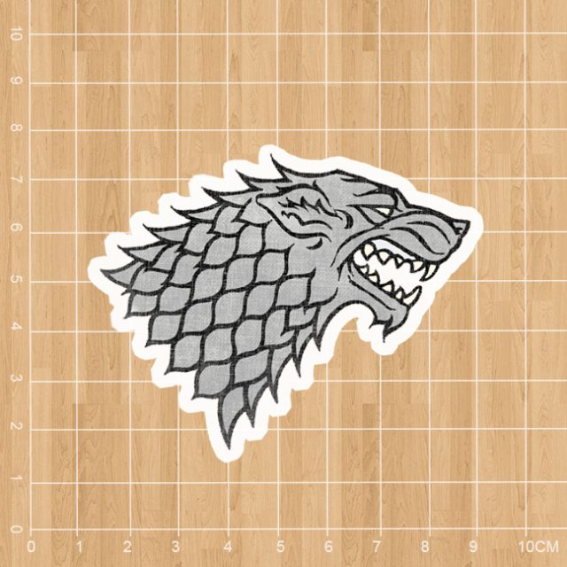 American TV Game of Thrones Winter is Coming Notebook/refrigerator/skateboard/trolley case/backpack/Tables sticker PVC sticker