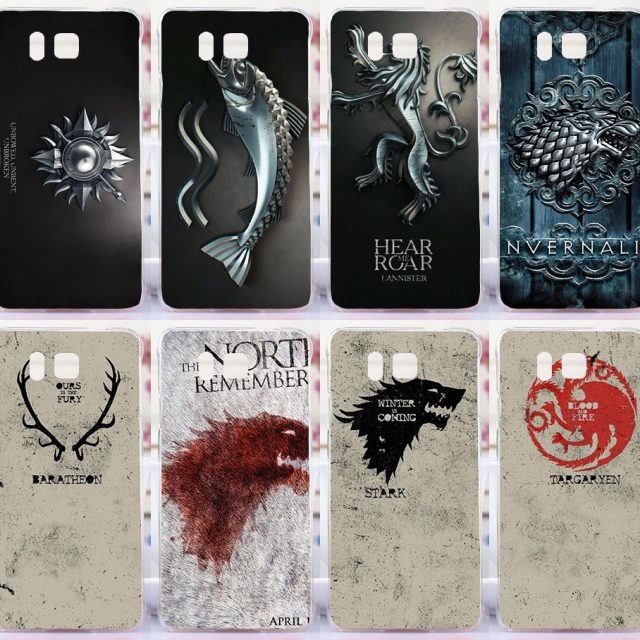 Families Flag Game of Thrones mobile phone case hard Back cover Skin Shell for Samsung Galaxy Alpha G850 G850F G8508S G8509V