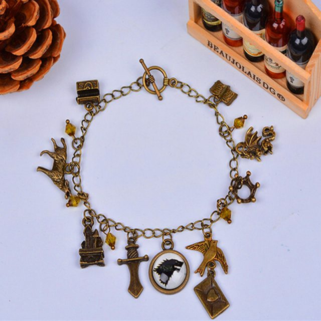 Game of Thrones charm bracelet