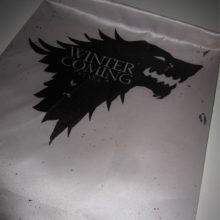 Large Game Of Thrones Logos Cosplay Flags Stark Wolf, Targaryen Dragon, Winter is coming, Medieval banners