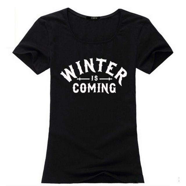 Winter is coming women t-shirt