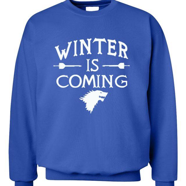 Winter Is Coming Fleece Sweatshirt