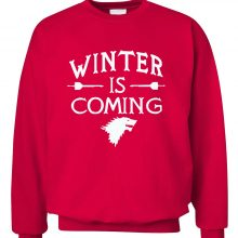 Winter Is Coming Fleece Sweatshirt