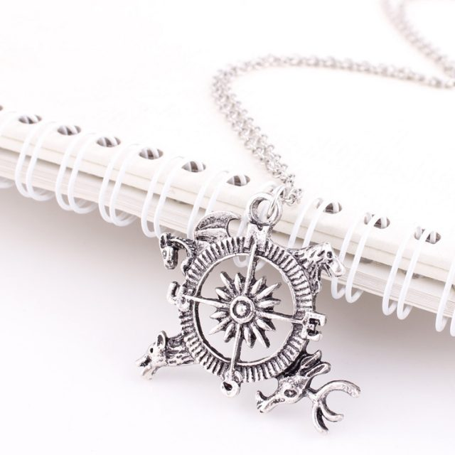 Game of Thrones Compass Pendant necklace